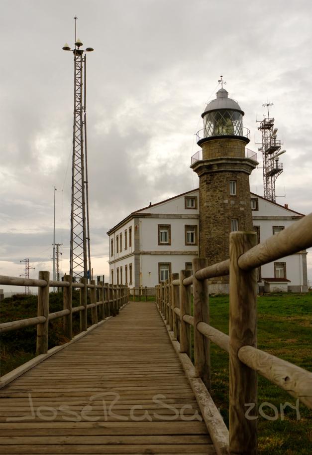 Fotografía Realizada En El Faro Del Cabo De Peñas.